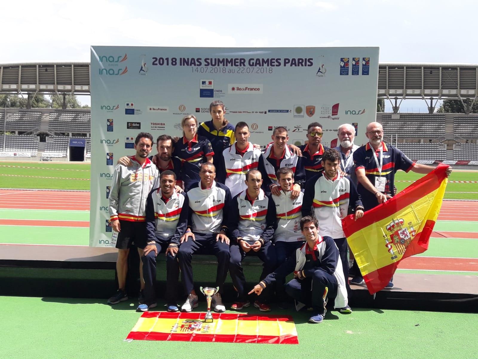 España suma 68 medallas en los Europeos para deportistas con discapacidad Intelectual