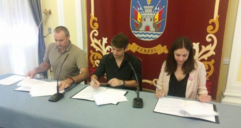 Ferrol colabora con COGAMI en la integración laboral de las personas con discapacidad