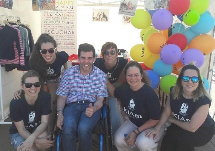 Kiabi España y Aspace Madrid recaudan más de 8.000 euros para personas con parálisis cerebral