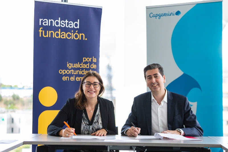 Fundación Randstad y Capgemini renuevan su acuerdo para la integración laboral de las personas con discapacidad