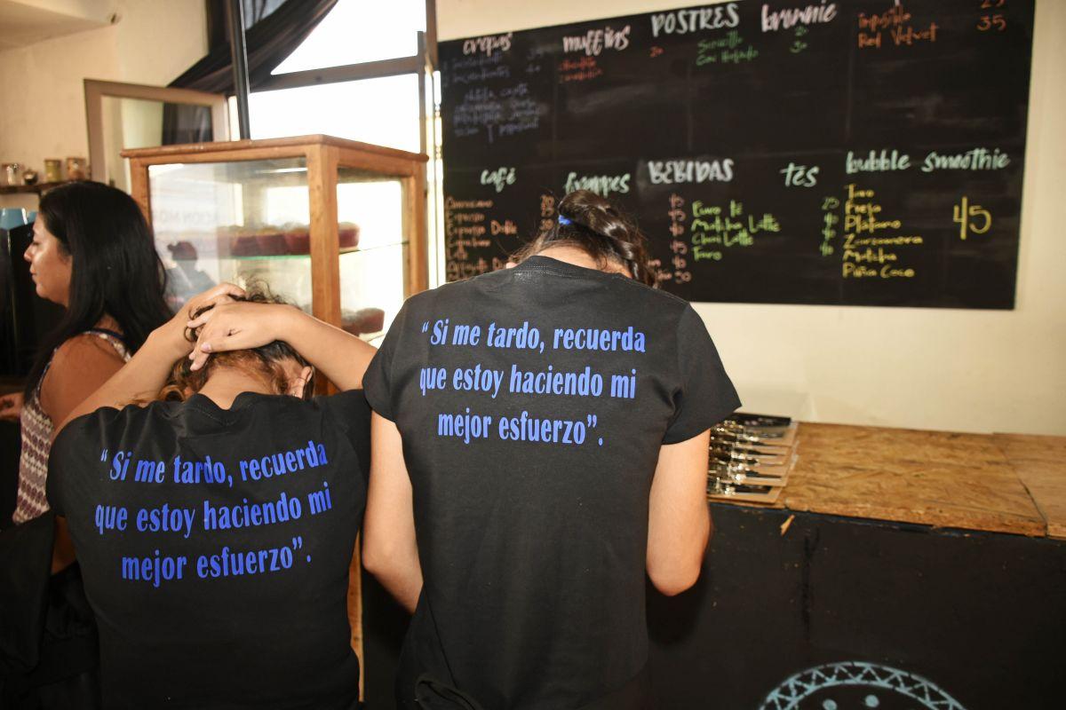 Resiliente, la cafetería incluyente en Cuernavaca