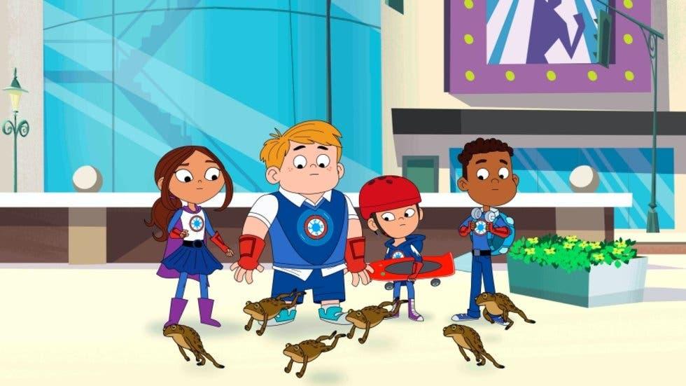 """""""Hero Elementary"""", un pequeño superhéroe con autismo una serie de PBS Kids"""