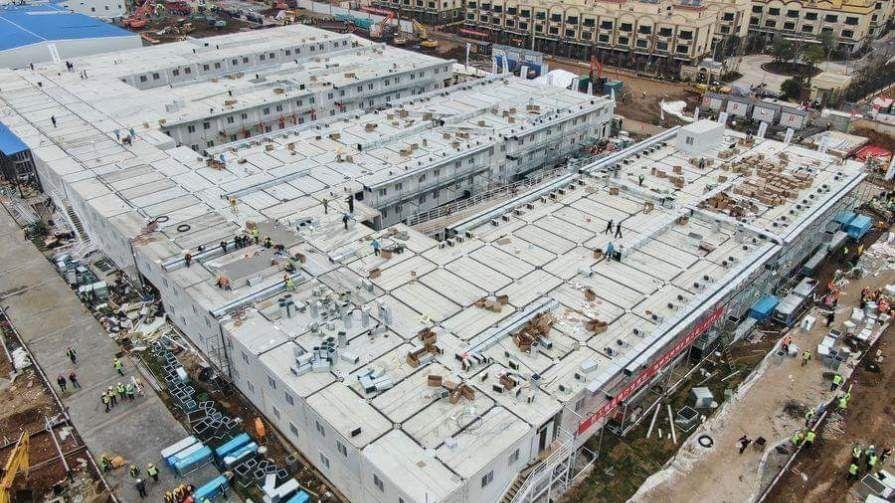 China abre hospital para coronavirus, construido en 10 días
