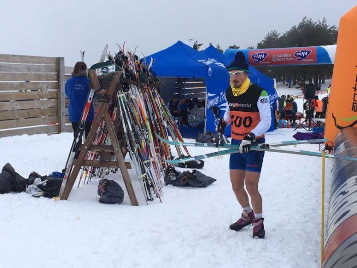 Resultado de imagen de triatlon invierno vinuesa