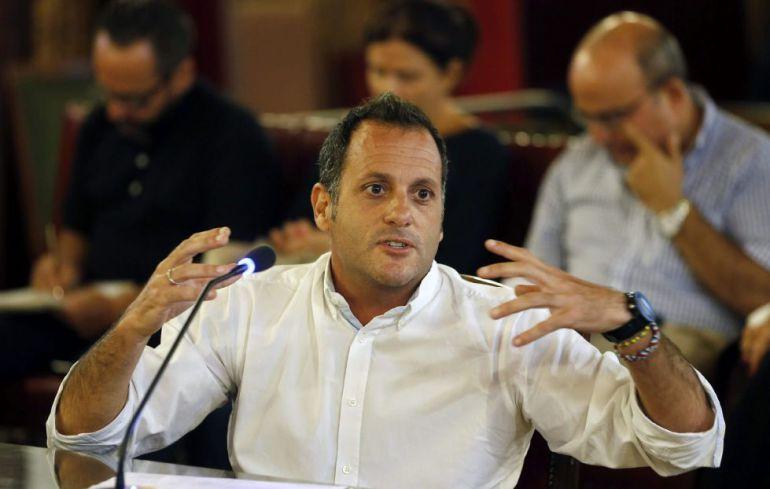 Isaac Vidal declarando en una de las sesiones del juicio