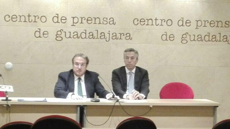Martin Molina y Javier Martínez abogados concursales del CD Guadalajara SAD