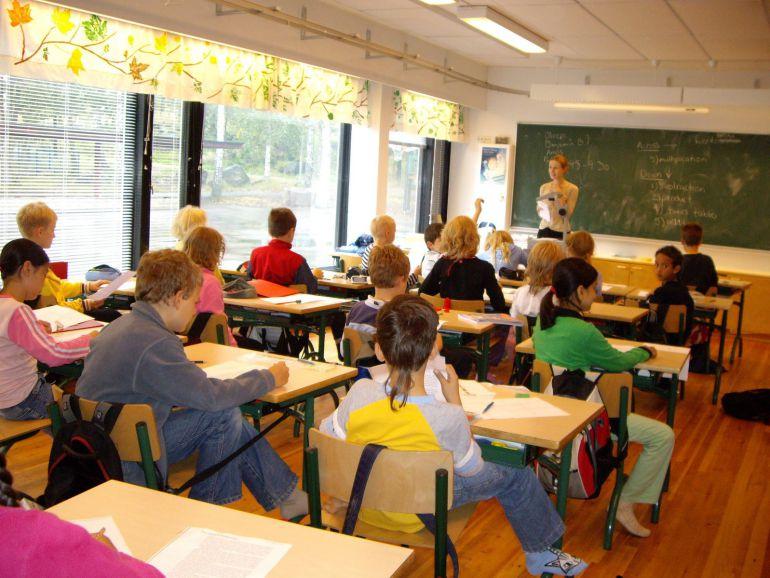 Finlandia, según el informe PISa posee el mejor sistema educativo de Europa y uno de los mejores del mundo.