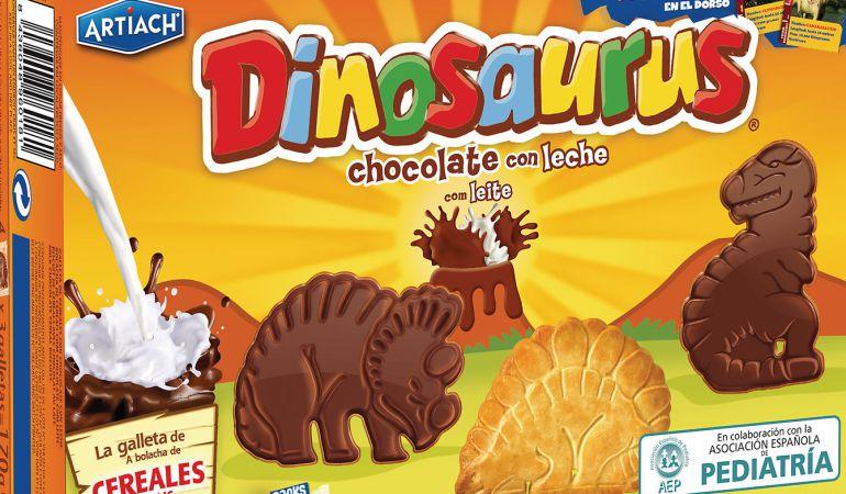Resultado de imagen de galletas dinosaurios