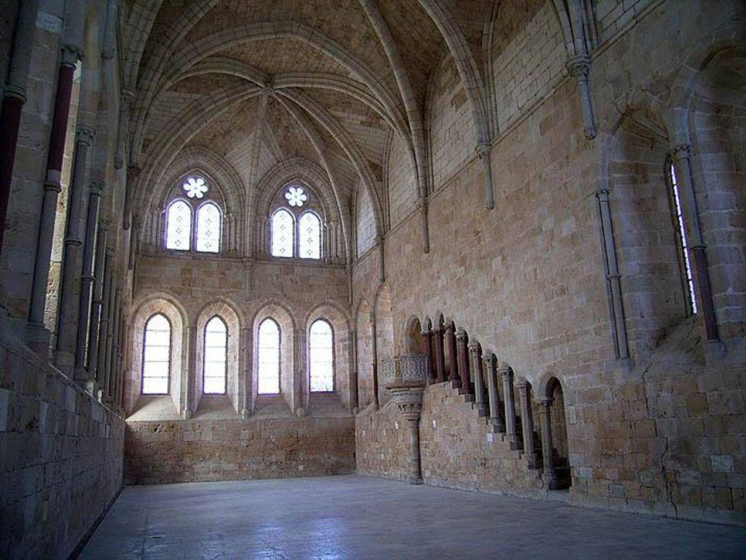 El Monasterio de Santa María de Huerta acoge la exposición 'Huerta frente al agua'   SER Soria   Hoy por Hoy Soria   Cadena SER