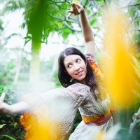 Kat – indian classical dance, hooping, and yoga in Bali