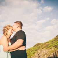 courtney & trevor + maui engagement photographs