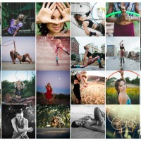 hoop dance photography // sacred circularities