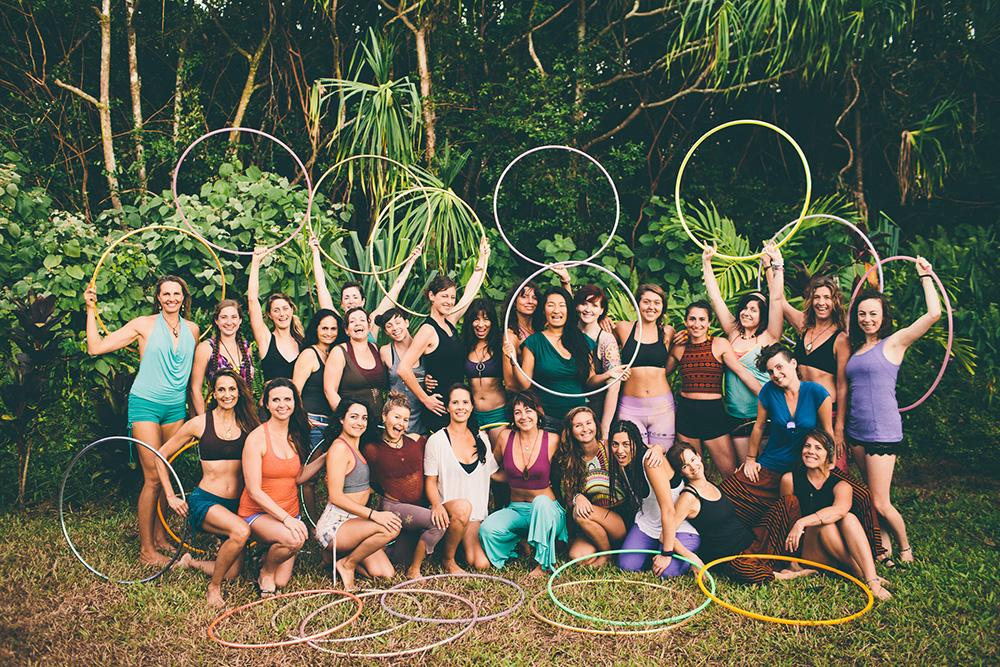 in depth hoop dance at kalani on the big island