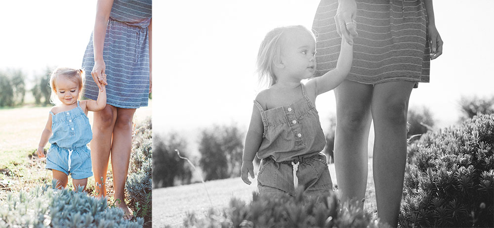 tropical moms, a series of maui family photography