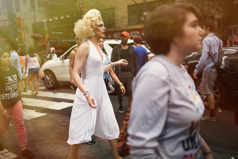 portrait at NYC pride 2015