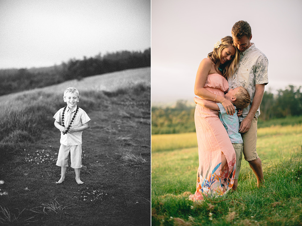 upcountry family session on Maui with cadencia photography