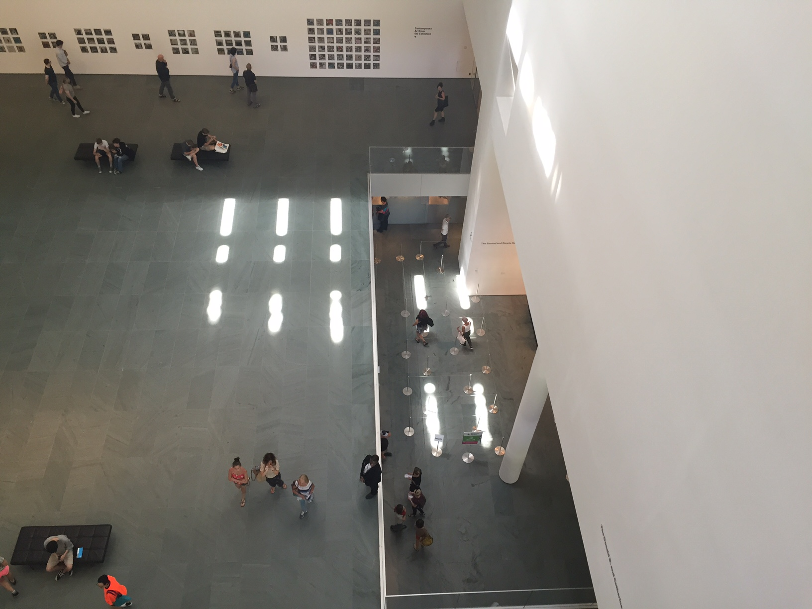MOMA from above