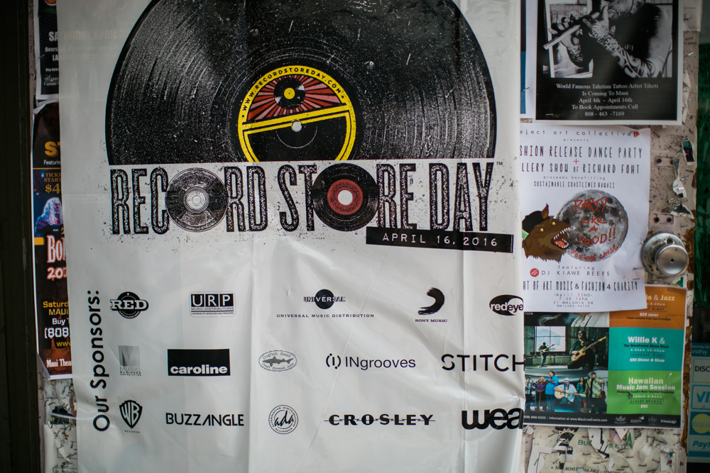 vinyl on maui at request music.