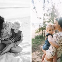 tara & gaia – baby beach, paia – maui family photography