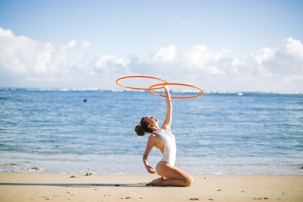 hooping in hawaii