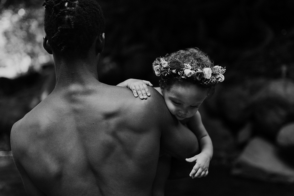 flower crown family photos maui hawaii