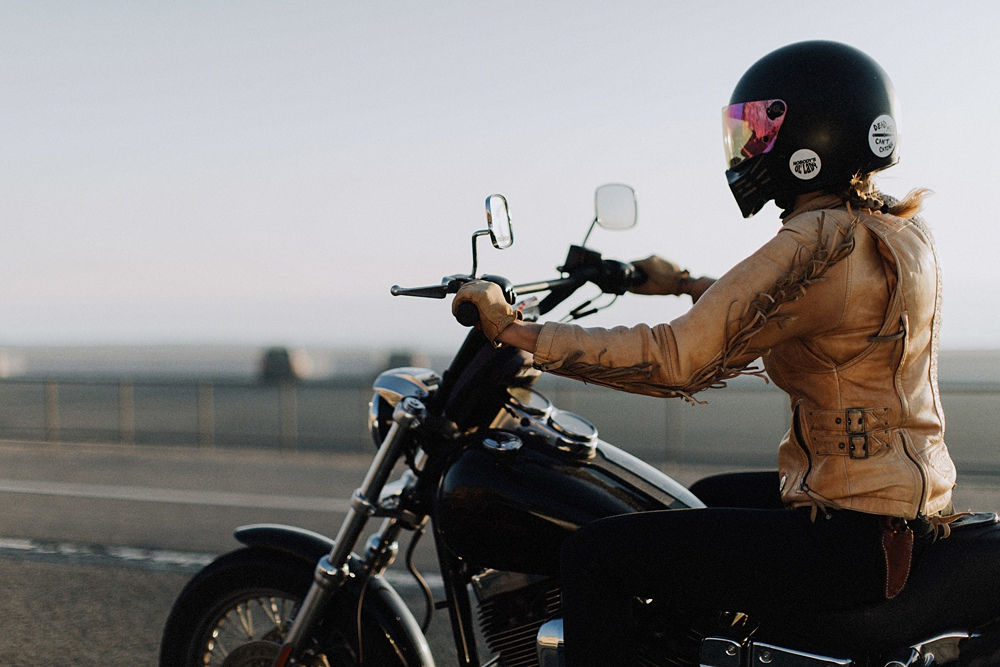 Women motorcyclist take a trip down the PCH.