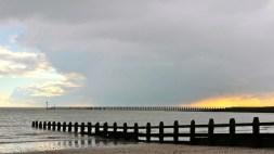 Sunset at Littlehampton image taken in February