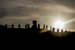 Vatican near sunset