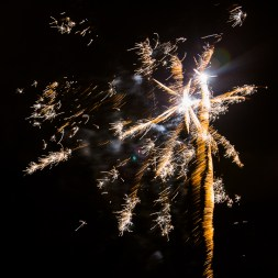 Fireworks at Romford & Gidea Park RFC