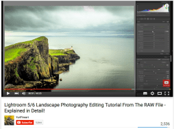 Lightroom RAW Landscape Tutorial - Nearly final image