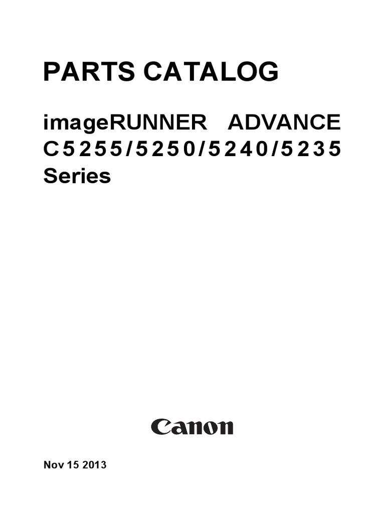 Canon ira c2230 service manual