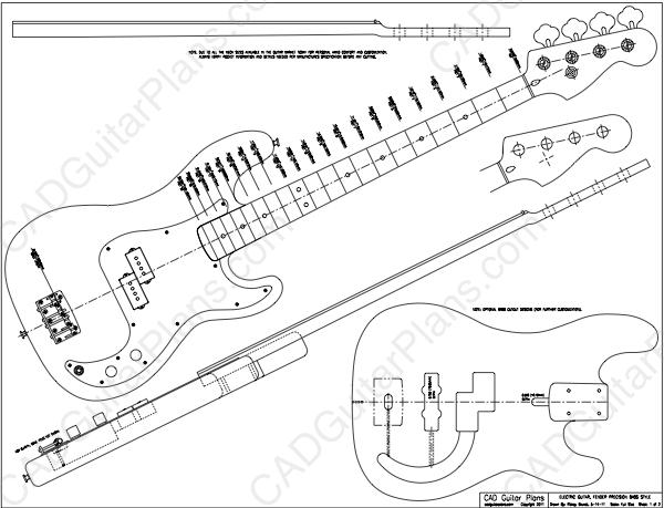 Fender Aerodyne Jazz Bass Wiring Diagram