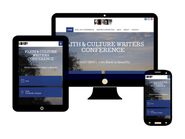 Faith and Culture Writers Conference Website and Blog