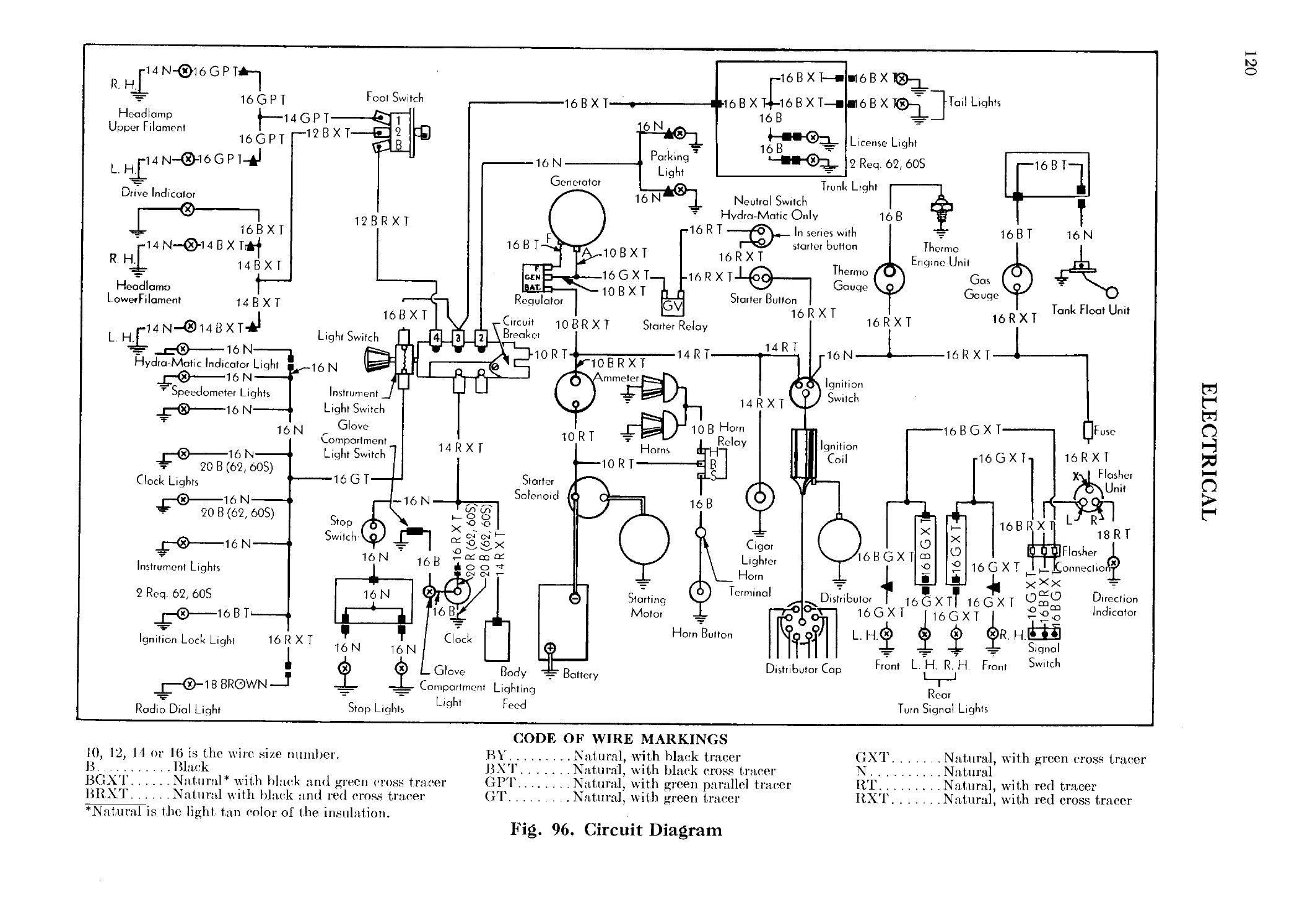 1947 Cadillac Shop Manual-Electrical Page 1 of 17