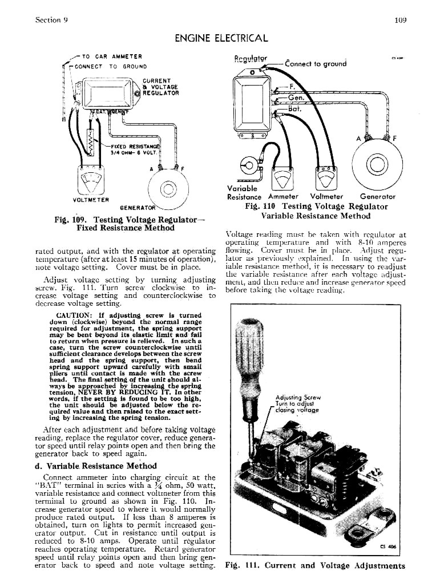 1949 Cadillac Shop Manual- Engine Electrical Page 14 of 17