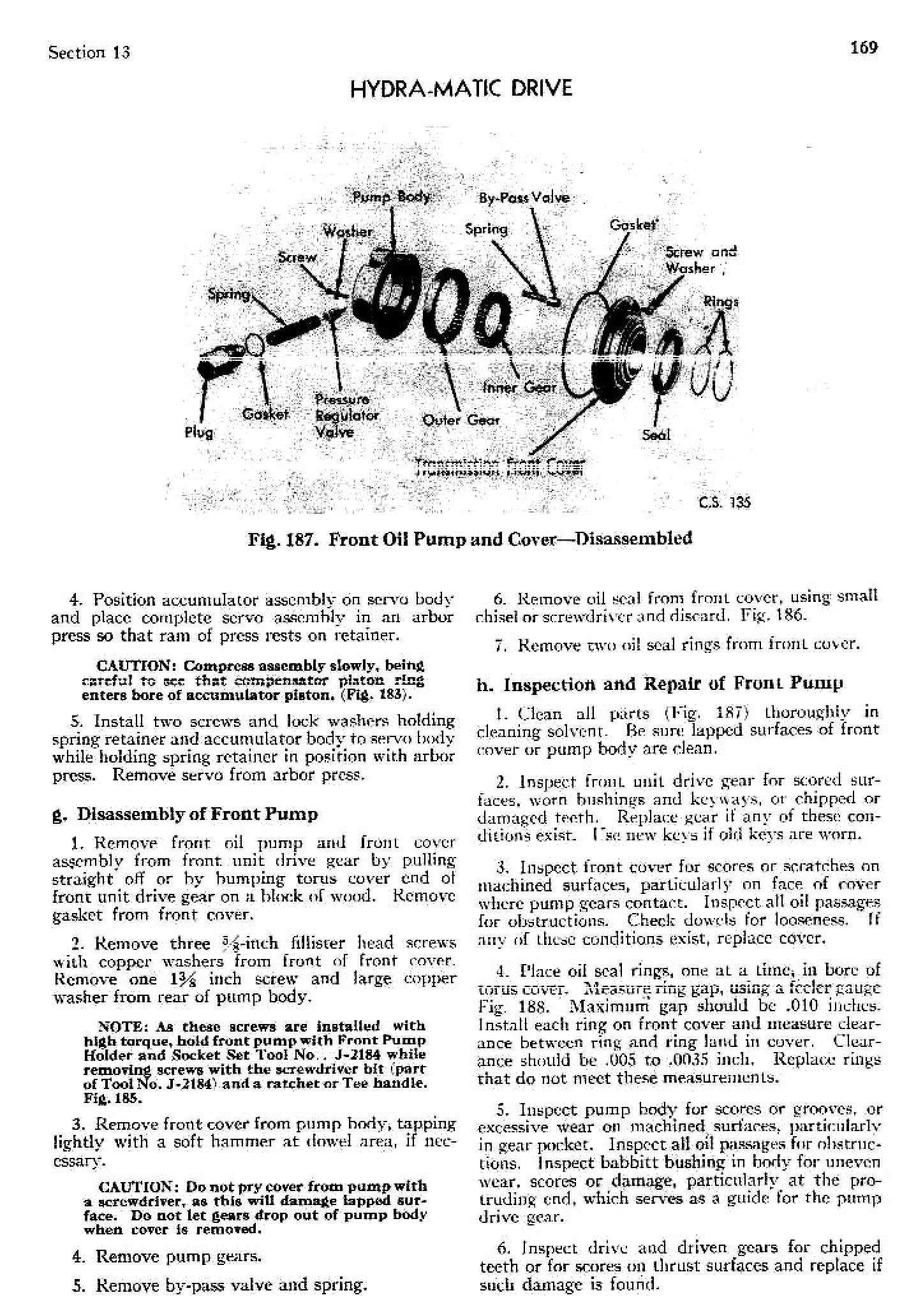 1949 Cadillac Shop Manual- Hydra-Matic Page 24 of 39
