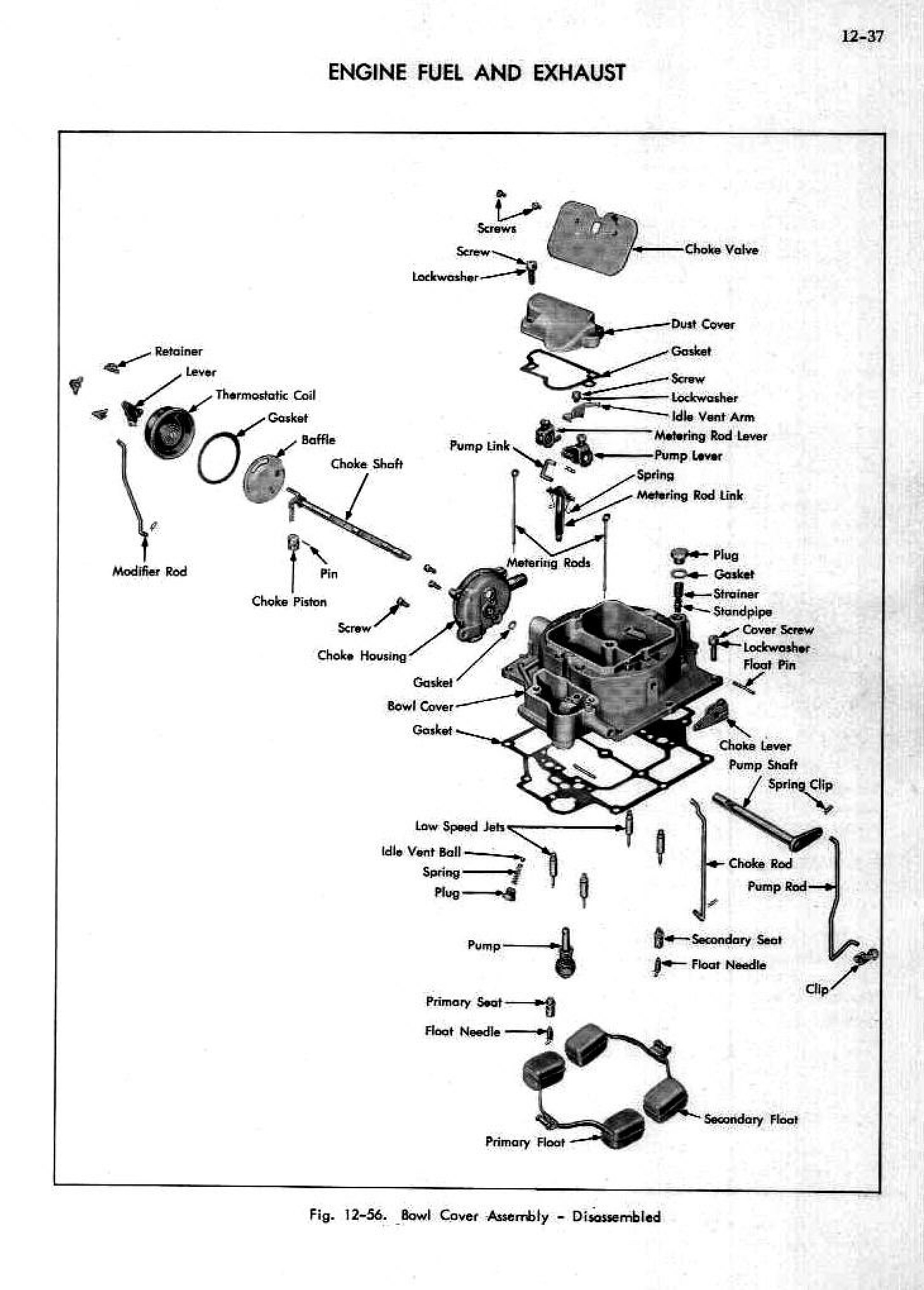 1952 Cadillac Shop Manual- Engine Fuel and Exhaust Page 37