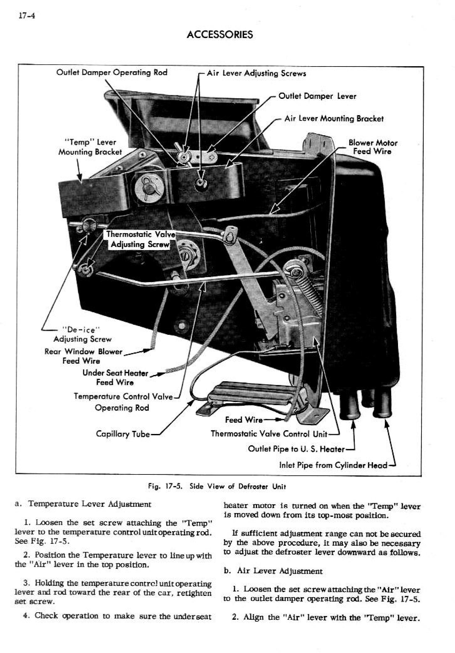 1952 Cadillac Shop Manual- Accessories Page 4 of 20