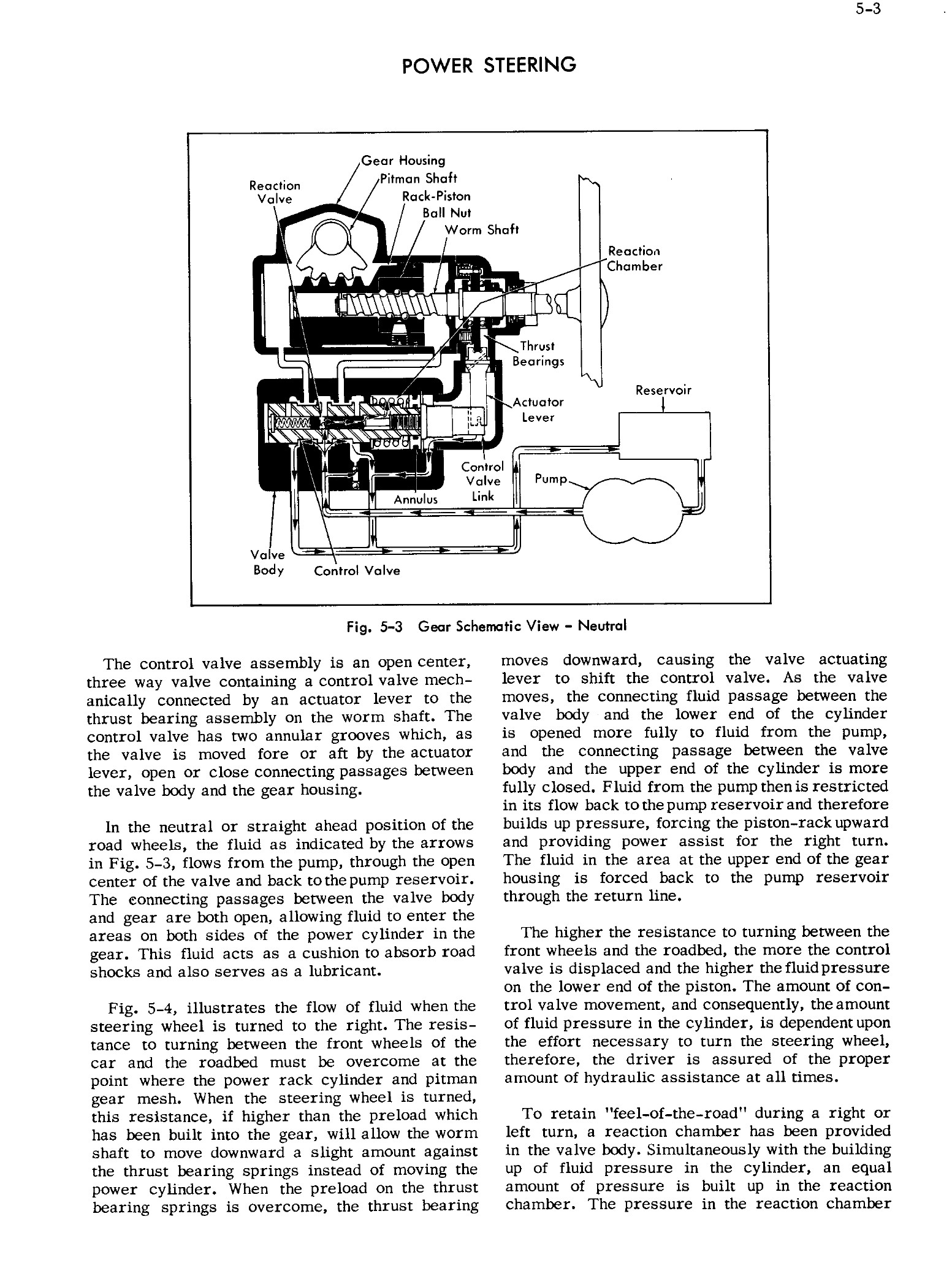 1956 Cadillac Shop Manual- Power Steering Page 3 of 26