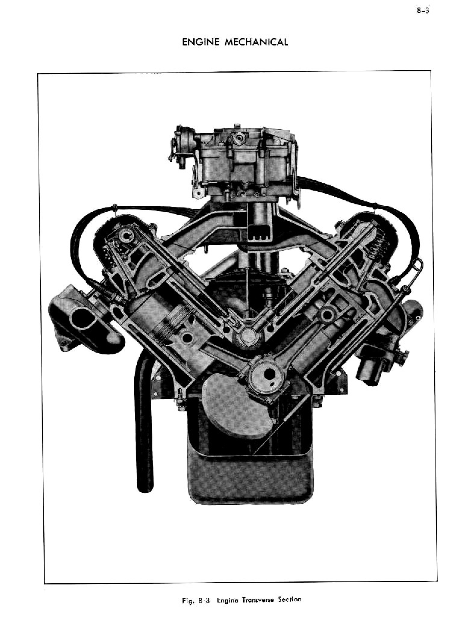 1956 Cadillac Shop Manual- Engine Mechanical Page 3 of 34