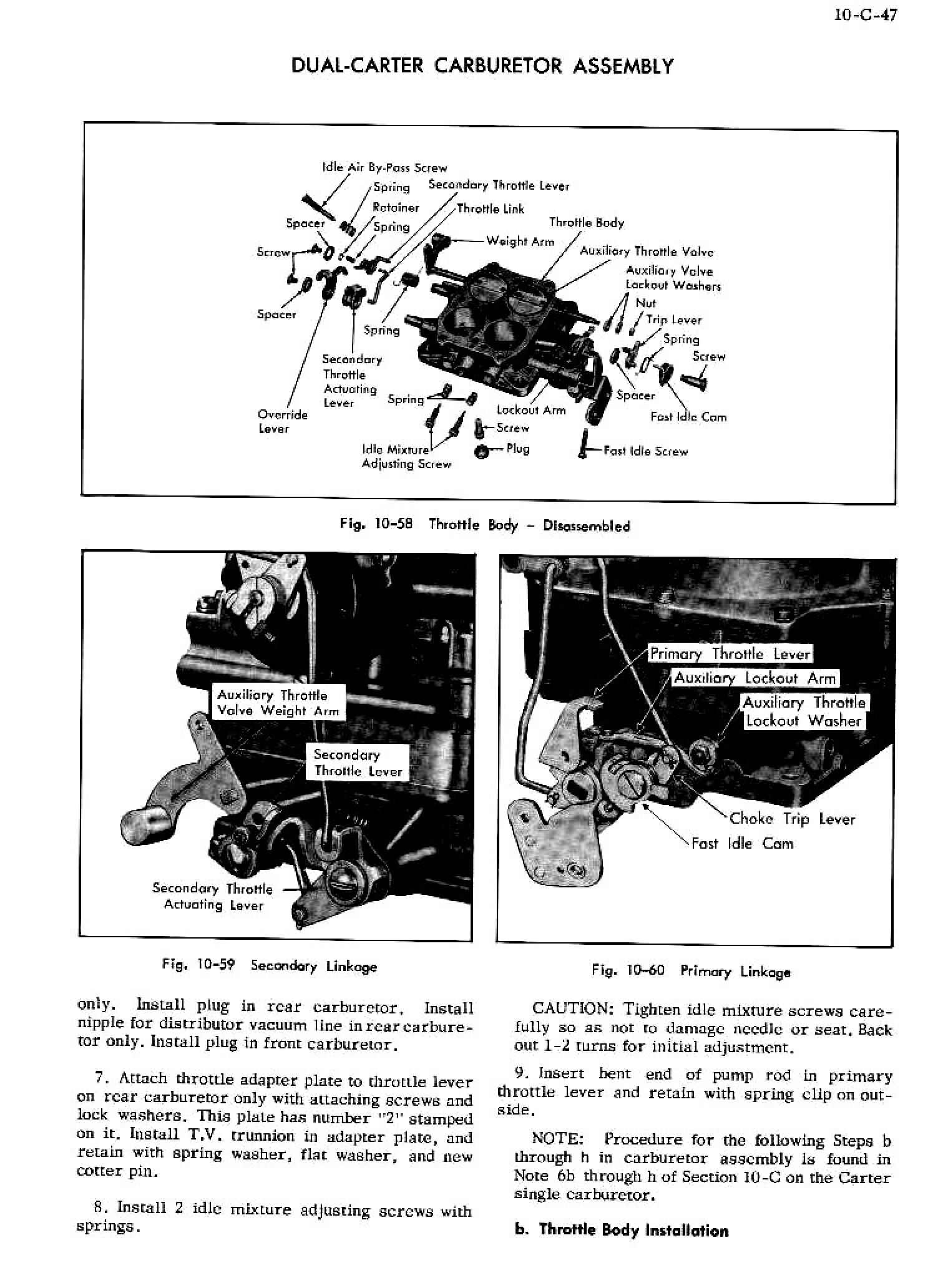 1956 Cadillac Shop Manual- Engine Fuel and Exhaust Page 47