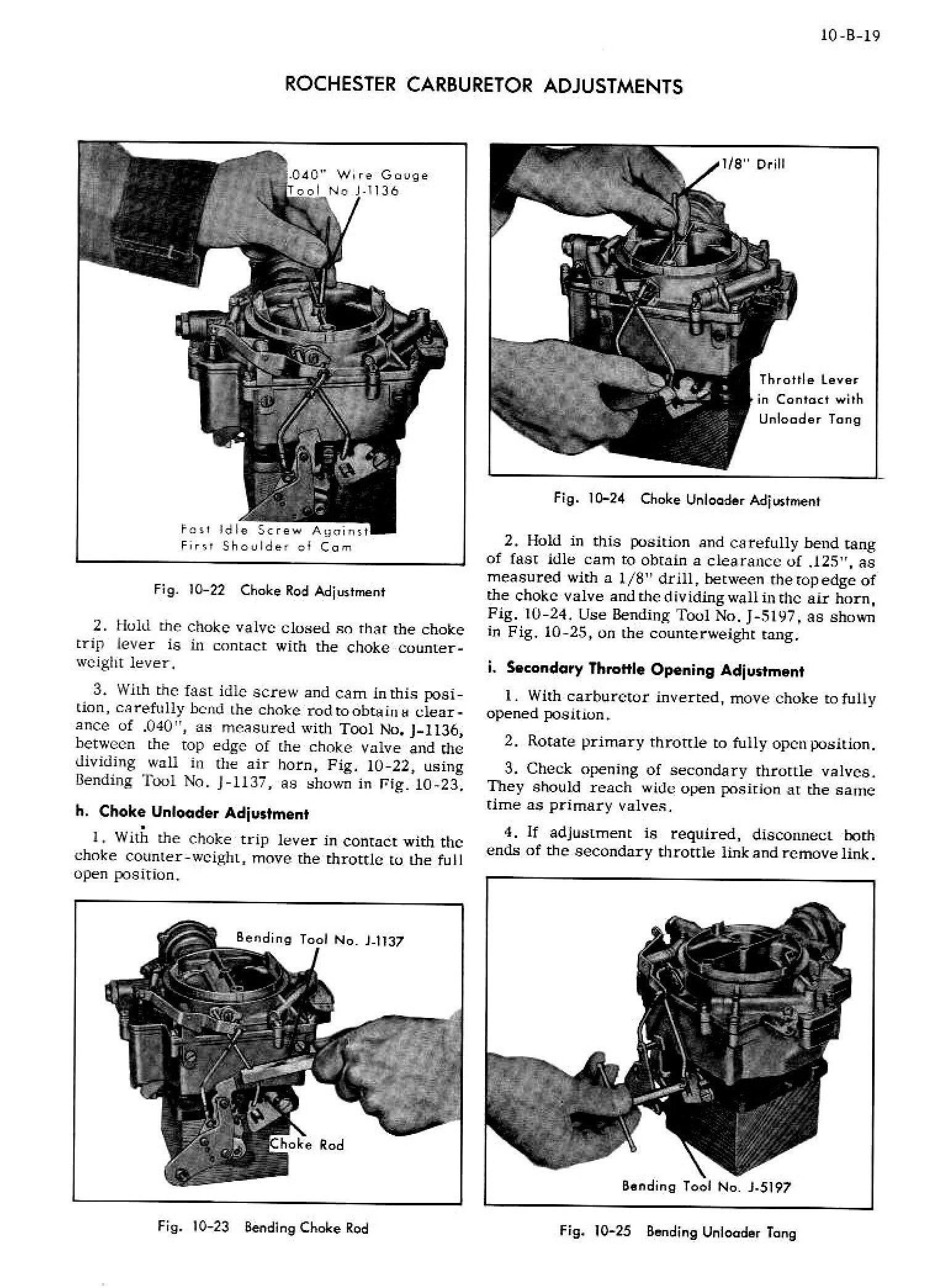 1956 Cadillac Shop Manual- Engine Fuel and Exhaust Page 19