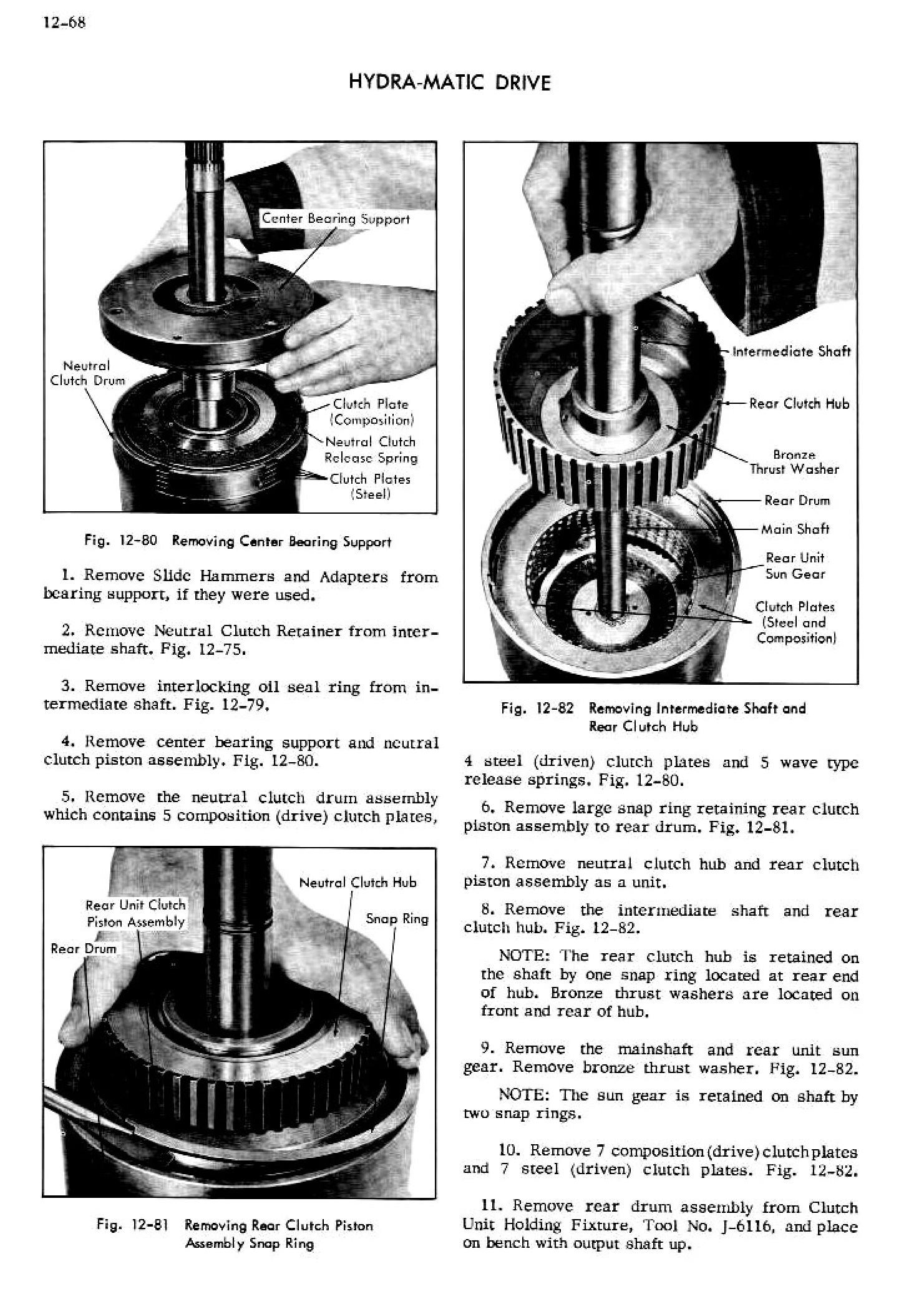 1956 Cadillac Shop Manual- Hydra-Matic Page 68 of 94