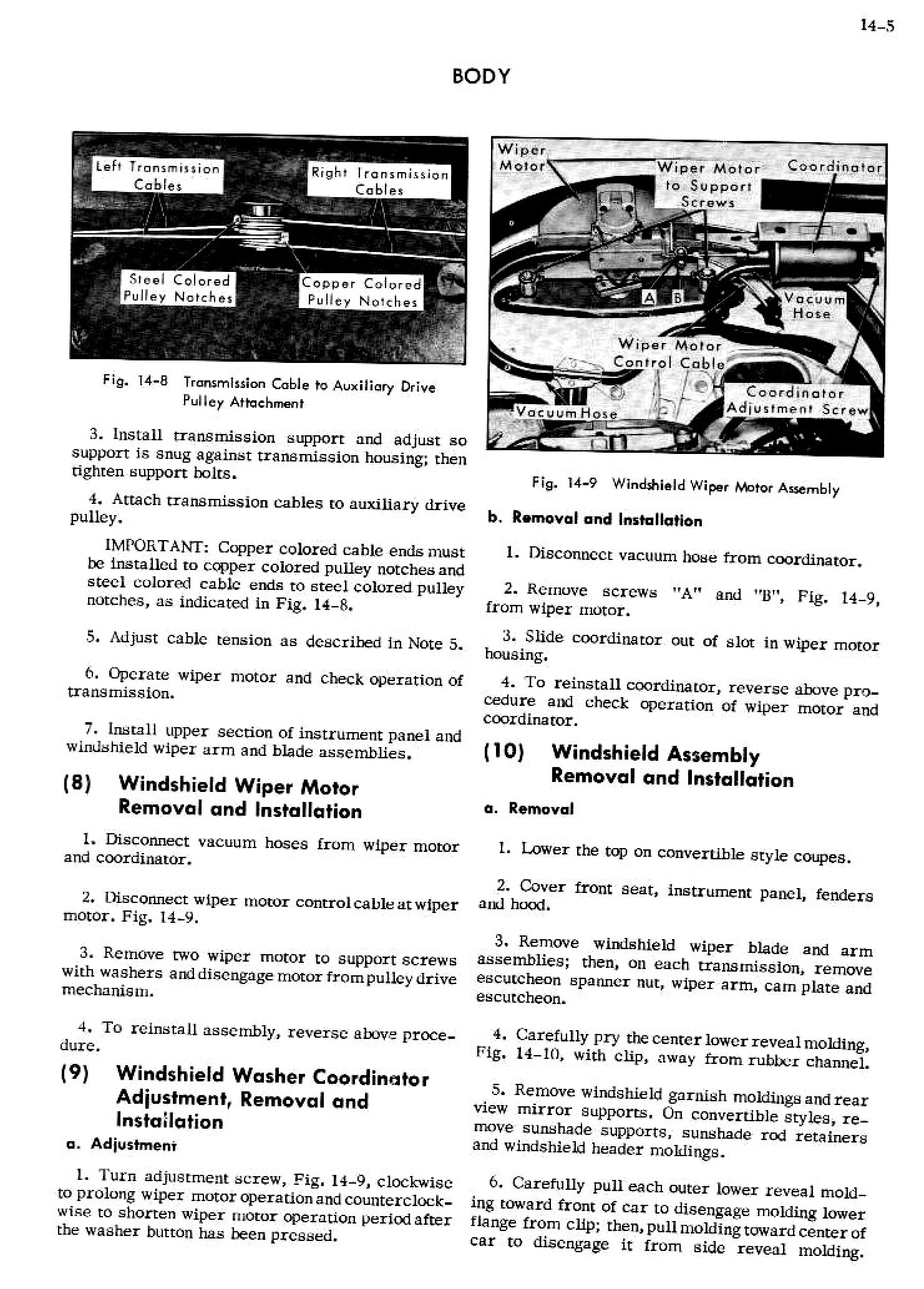 1956 Cadillac Shop Manual- Body Page 5 of 87