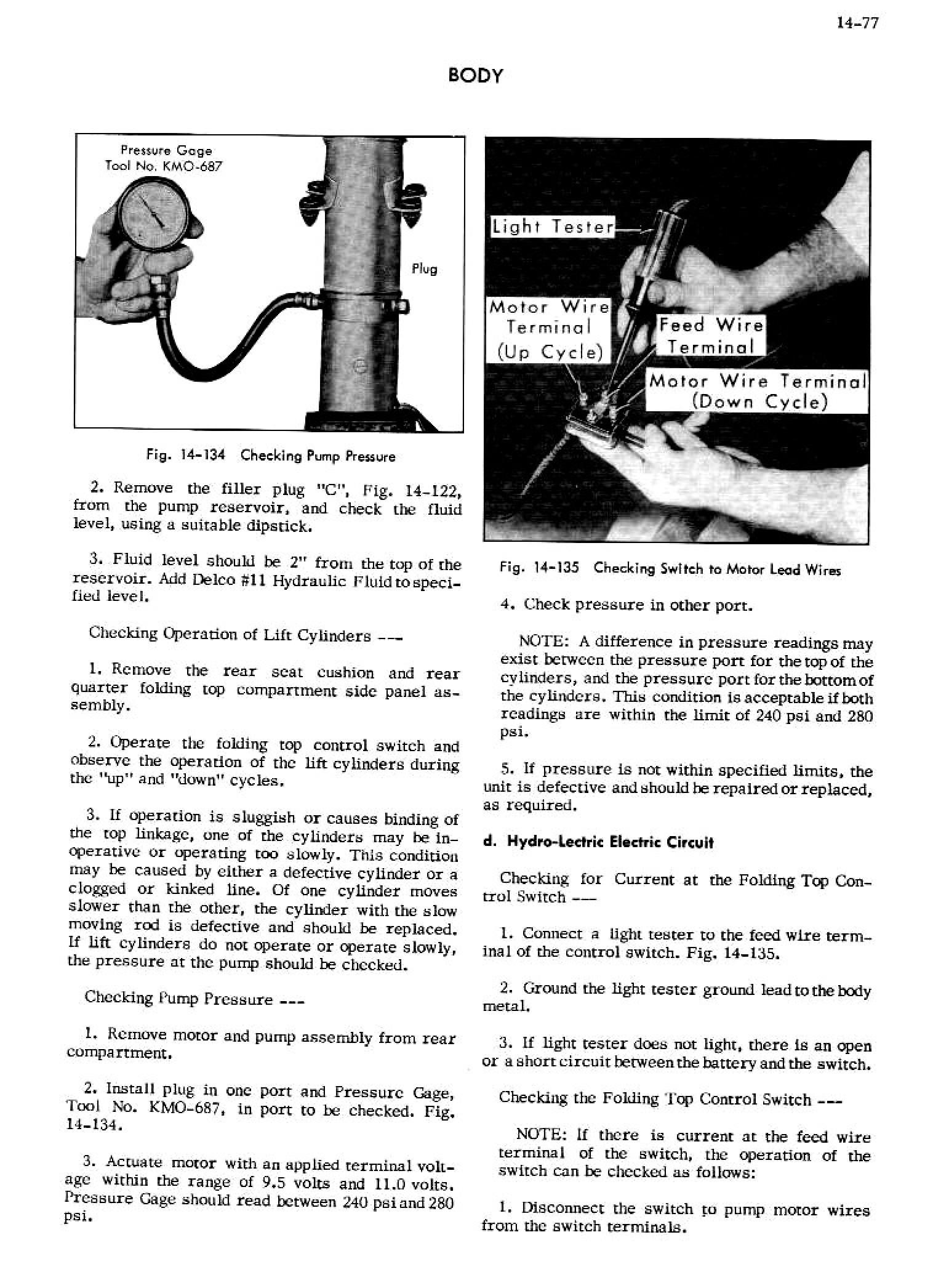 1956 Cadillac Shop Manual- Body Page 77 of 87