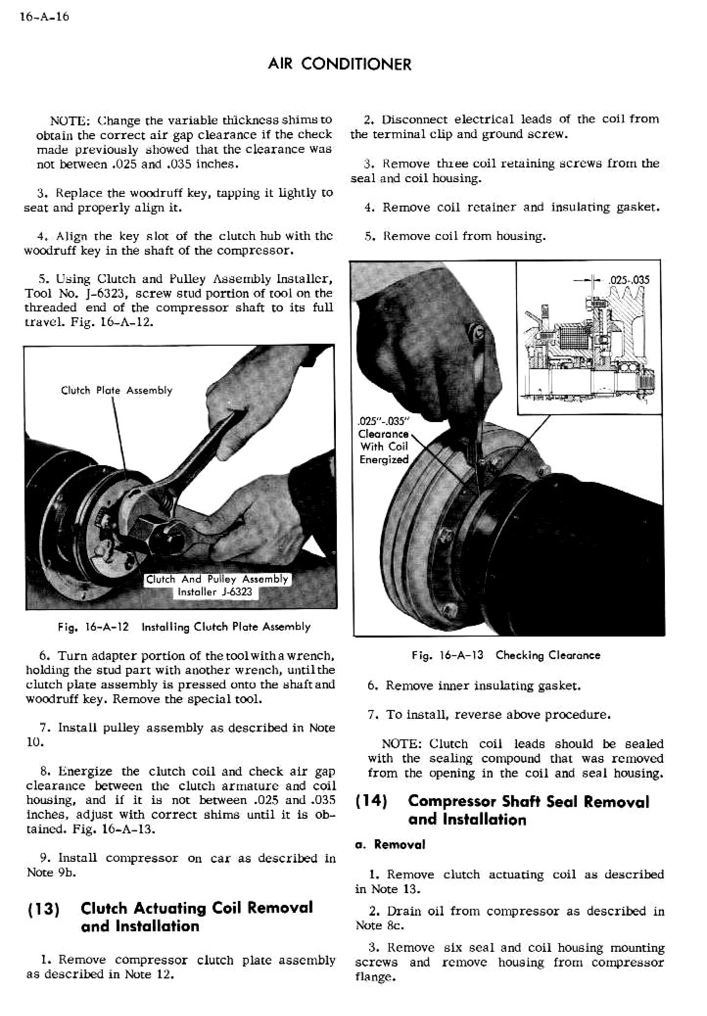 1956 Cadillac Shop Manual- Accessories Page 16 of 45