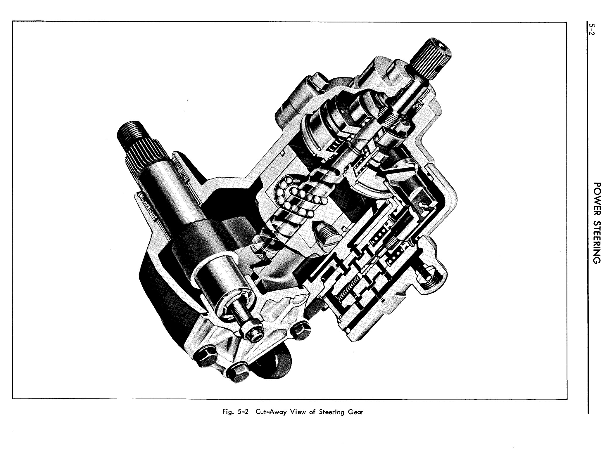 1957 Cadillac Shop Manual- Power Steering Page 2 of 26