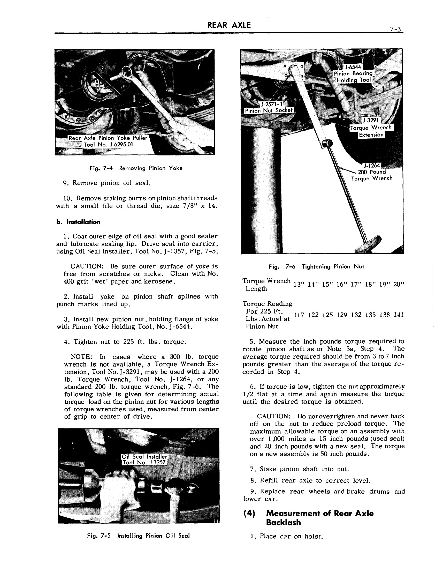 1957 Cadillac Shop Manual- Rear Axle Page 3 of 10