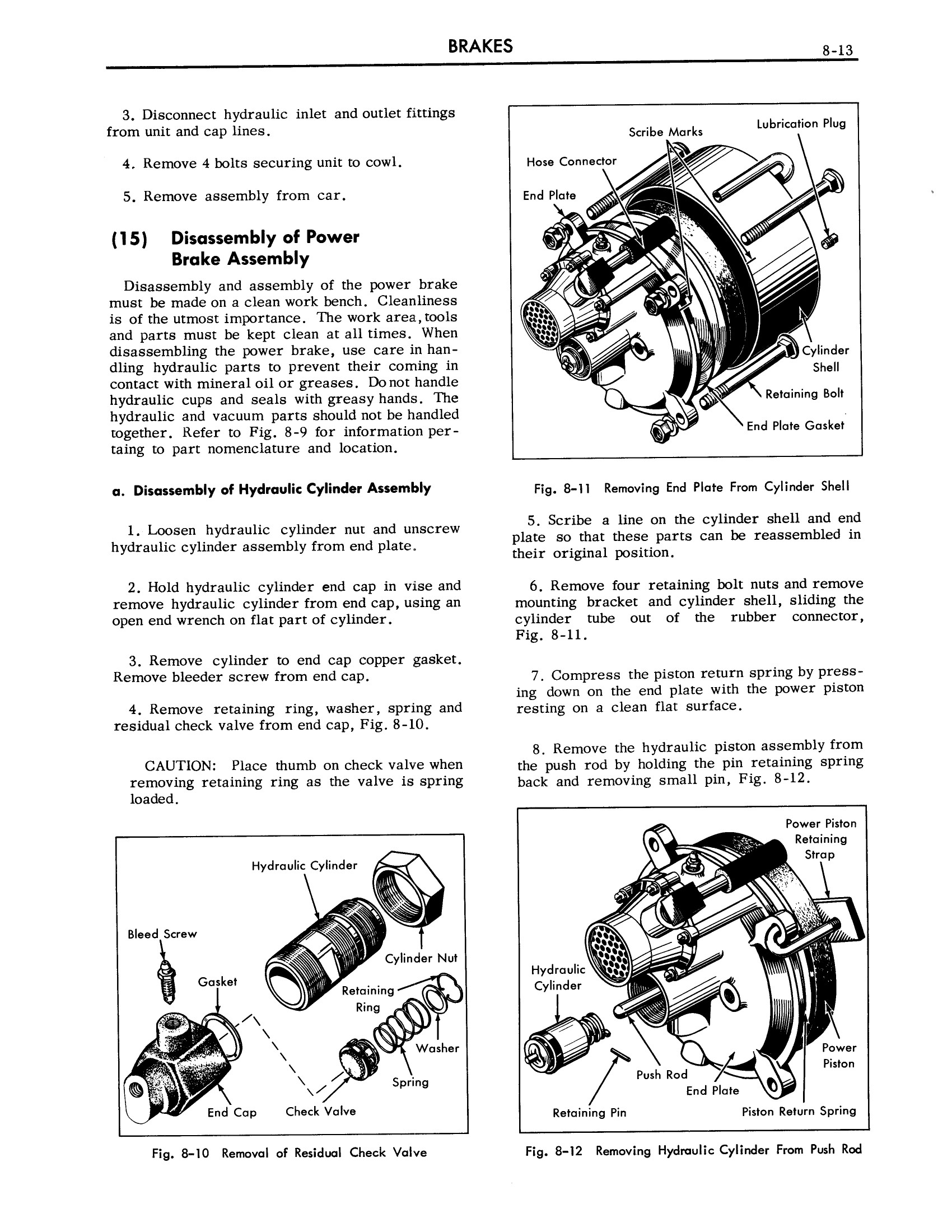 1957 Cadillac Shop Manual- Brakes Page 13 of 26