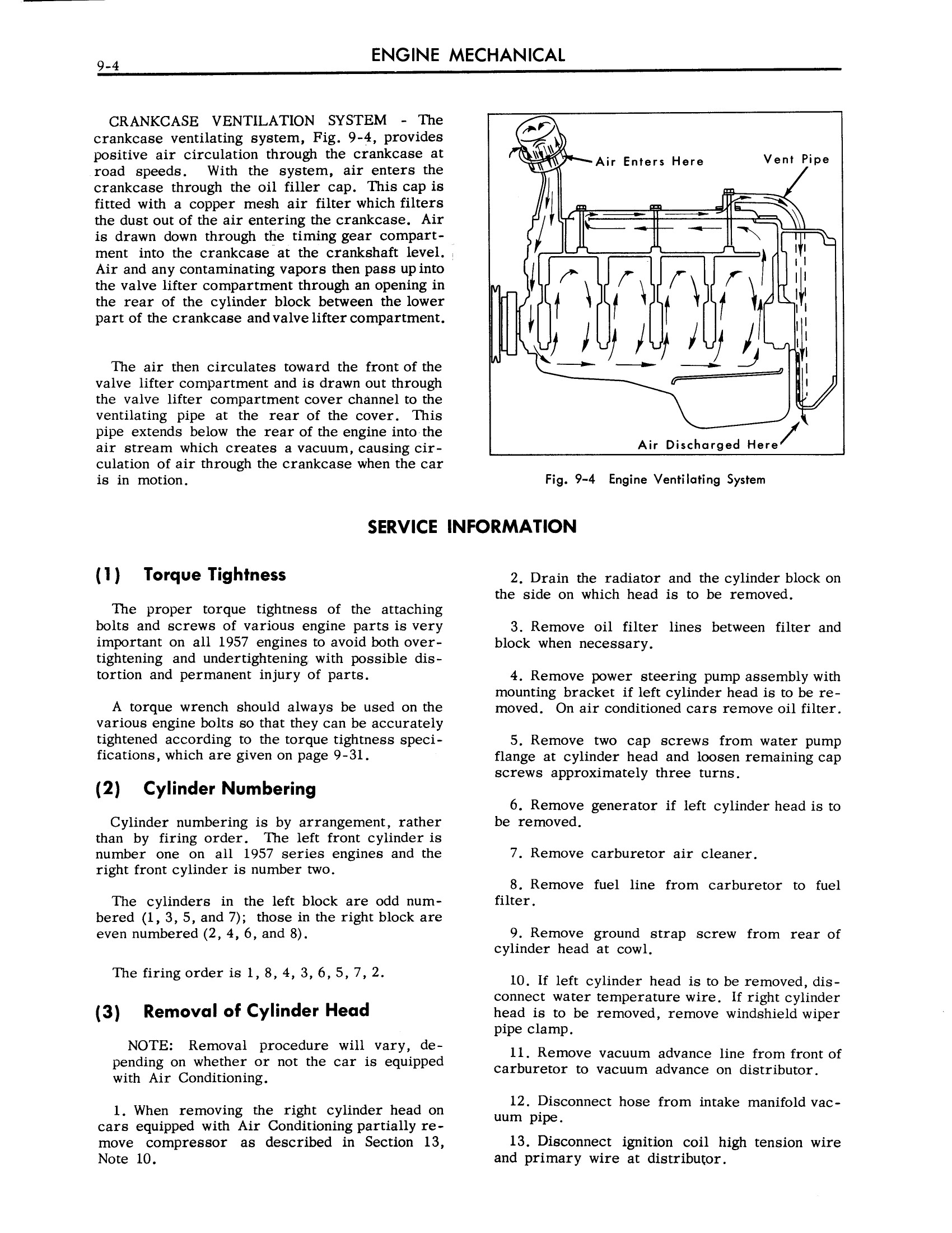1957 Cadillac Shop Manual- Engine Mechanical Page 4 of 32